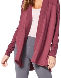Lululemon NWT SO MERLOT LULULEMON BLISSFUL ZEN SWEATER - - Size 6