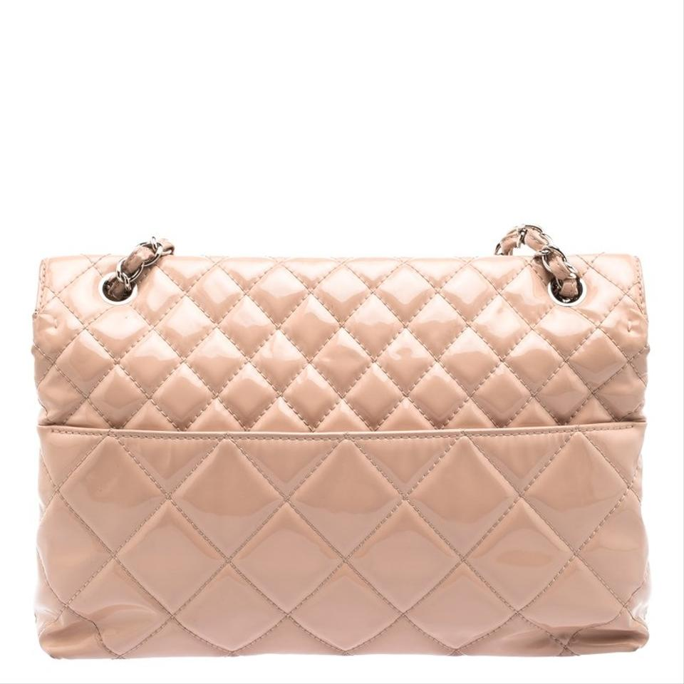 dacc474065c16f Chanel Classic Flap Blush Quilted Patent In-the-business Pink Fabric ...