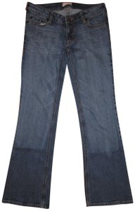 Tilt Stretchy Low Rise Flare Leg Jeans-Medium Wash