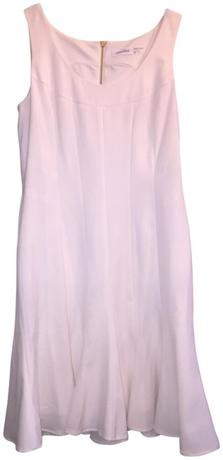 Item - Off White Summer Short Casual Dress Size 12 (L)