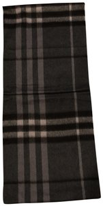 Burberry Dark check infinite scarf
