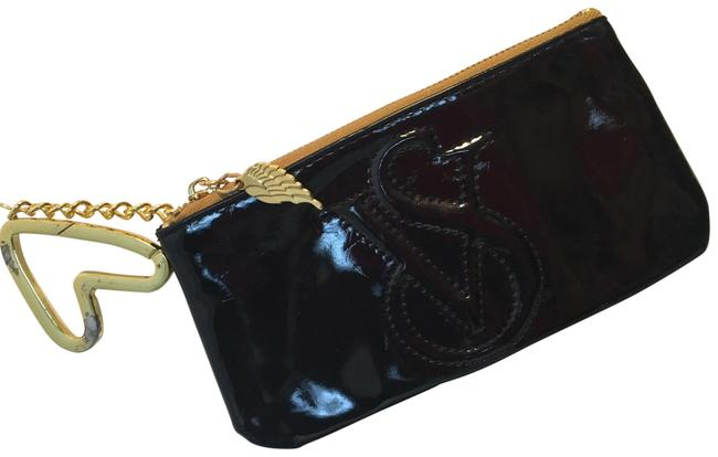 Item - Chain Bag Key Black Patent Leather Clutch