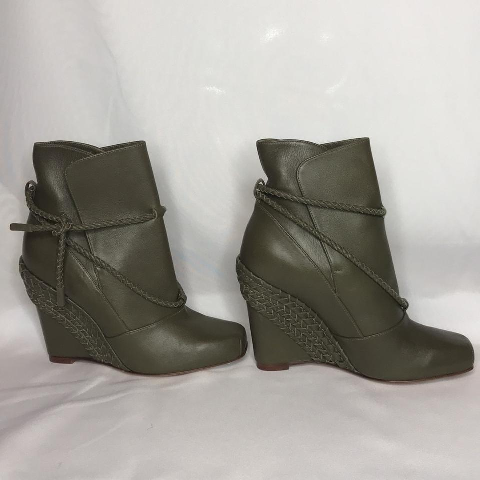 Boots Booties Army Valentino New Green qcZRR4T7