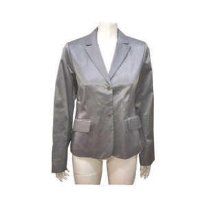 BCBGMAXAZRIA BCBG Maxazria Collection Silver-Grey Blazer