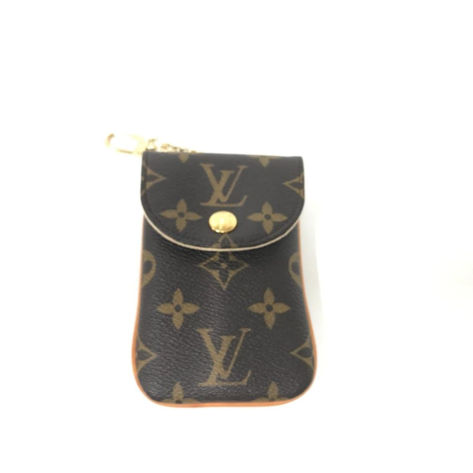 499127caebd5 Louis Vuitton Etui MM Monogram Canvas Cell Phone Holder M66546 Image 0 ...