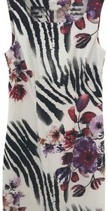 Alyx short dress Rayon print dress, black, red, white and purple. on Tradesy