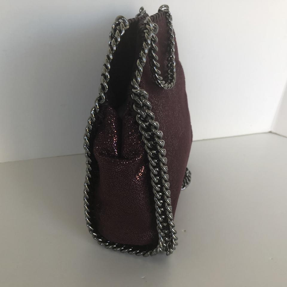 d0dcdcfb66 Stella McCartney Tiny Falabella  Indian Red Faux Leather Cross Body Bag -  Tradesy