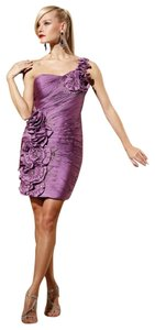 Terani Couture One Shoulder Dress