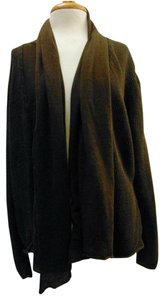Lafayette 148 New York Scarf Front Open Front Linen Cardigan