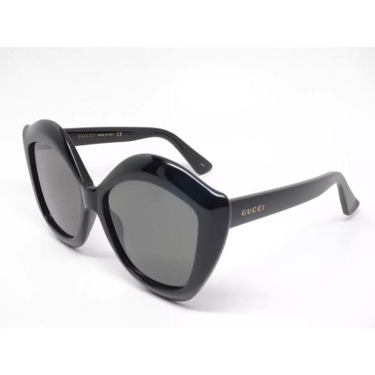 721f8dbceb Gucci Gucci GG0117S 001 Black Cat eye sunglasses NEW! Image 2
