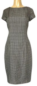 Ralph Lauren Collection short dress black Houndstooth Wool Sheath on Tradesy