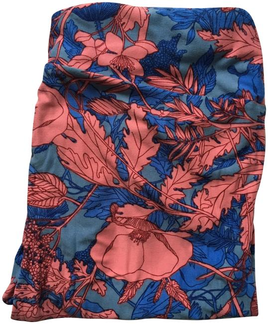 Item - Blue and Pink Tc Leggings Size 12 (L, 32, 33)