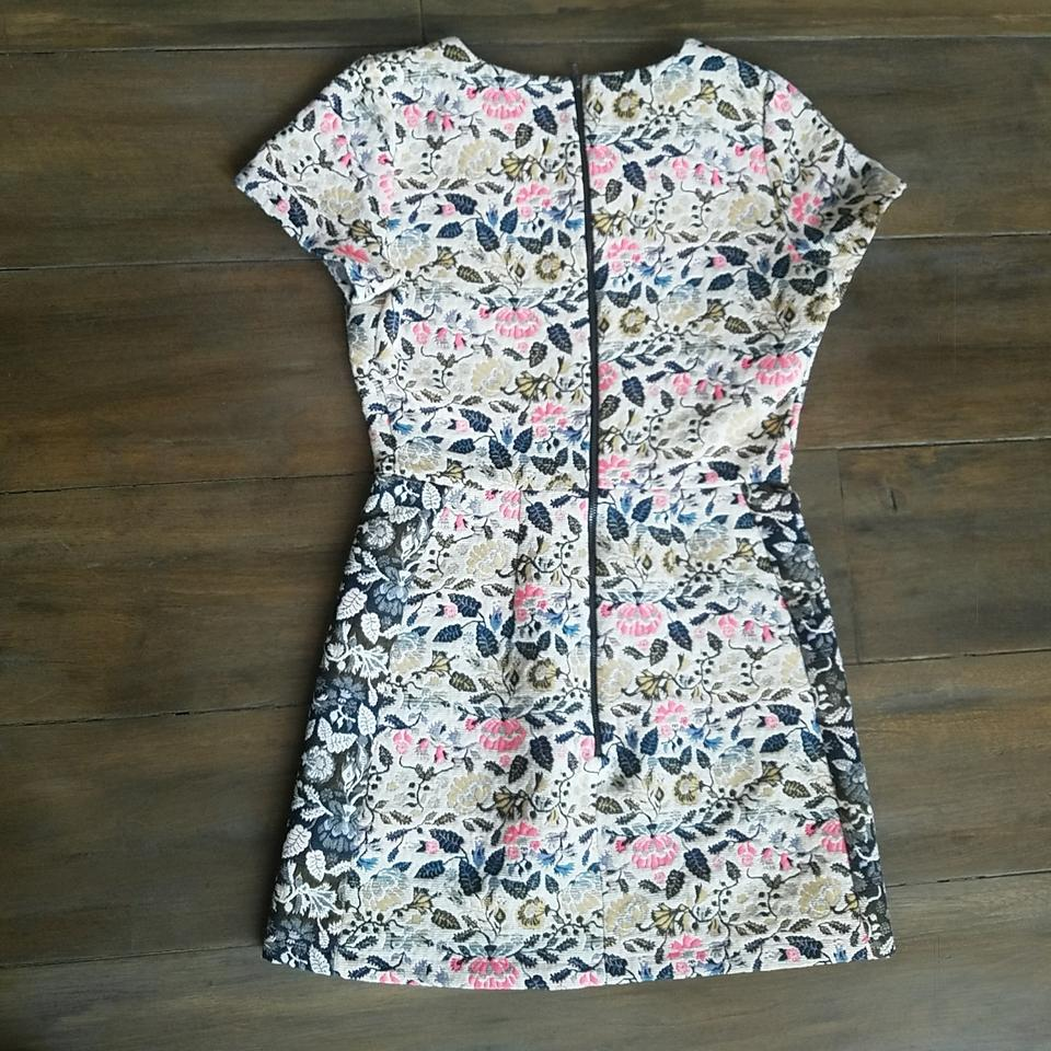 Topshop White Rn125149 Short Casual Dress Size Petite 4 (S) - Tradesy