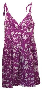 American Eagle Outfitters short dress purple and white on Tradesy