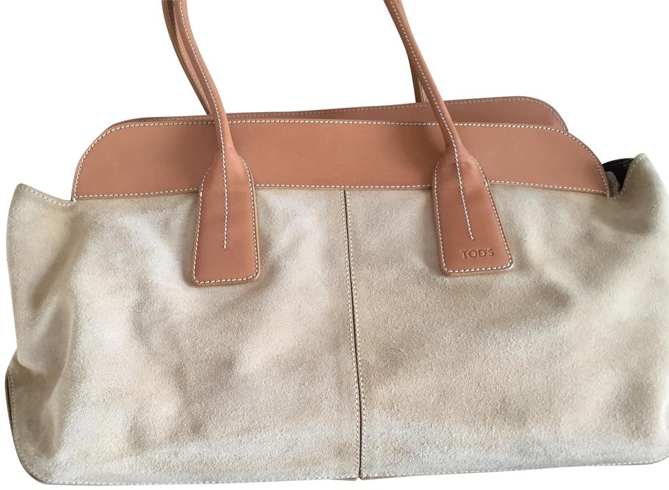 a5b5e439610 Tod's D Limited Edition Camel Suede and Leather Satchel - Tradesy