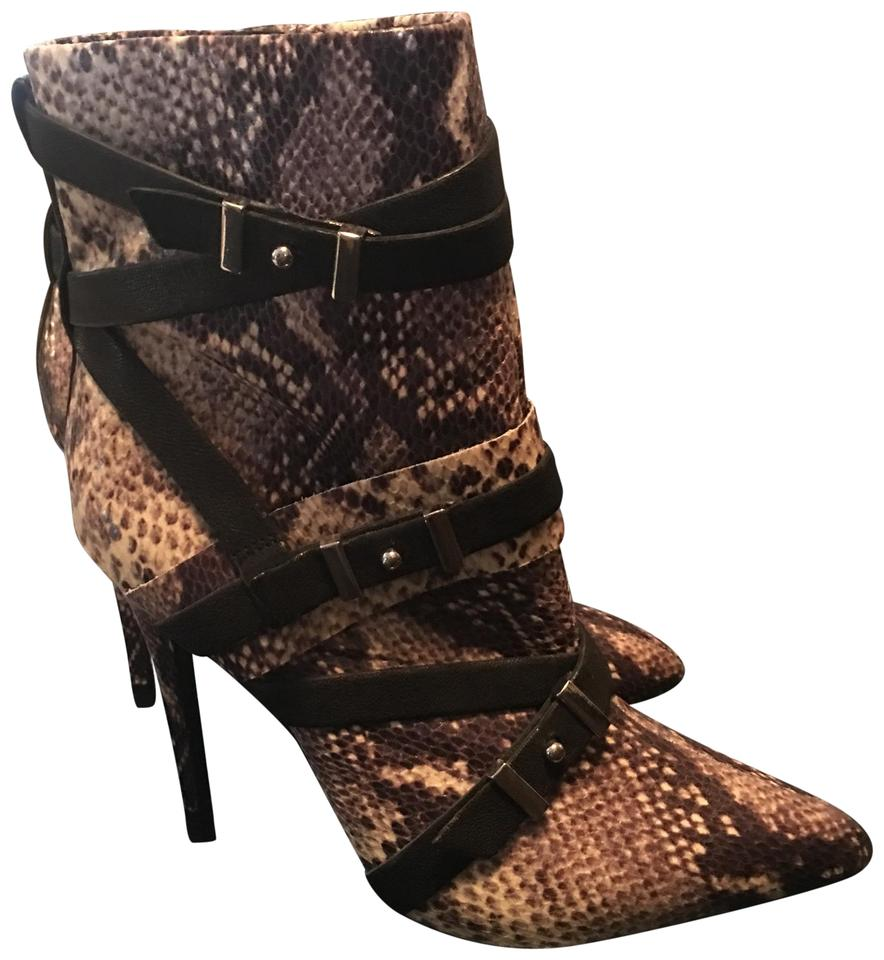 a44f5c1f96e Guess By Marciano Neutral Snake New Python Skin Vince Jeffrey Ankle  Boots/Booties Size US 8 Regular (M, B)