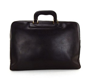 Gucci Briefcase Leather Vintage Italy Laptop Bag