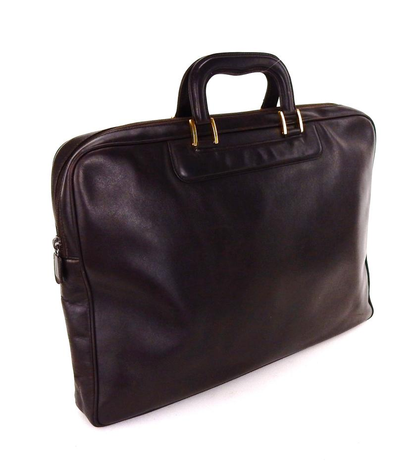 0d127569303 Gucci Briefcase Leather Vintage Italy Laptop Bag Image 10. 1234567891011