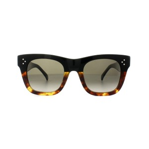 Céline NEW Celine CL 41089/S Small Catherine Black Ombre Cat Eye Sunglasses