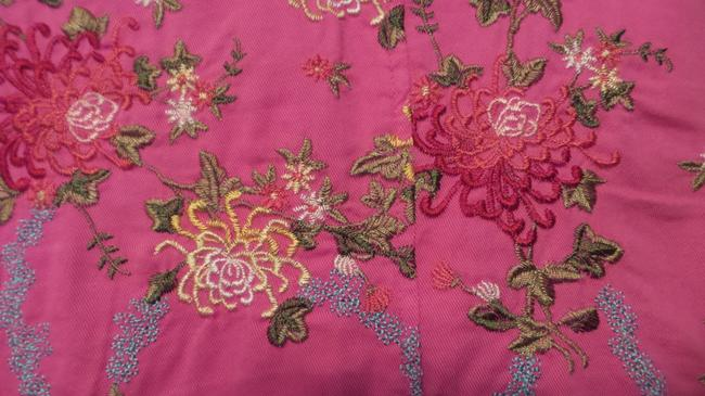 Johnny Was Embroidered Cotton Pink Jacket Image 6