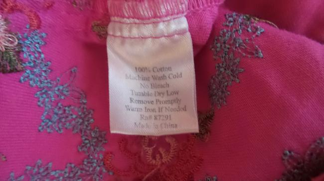 Johnny Was Embroidered Cotton Pink Jacket Image 8