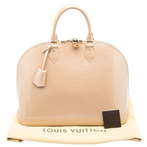 Louis Vuitton Monogram Vernis Alma Gm Shoulder Bag