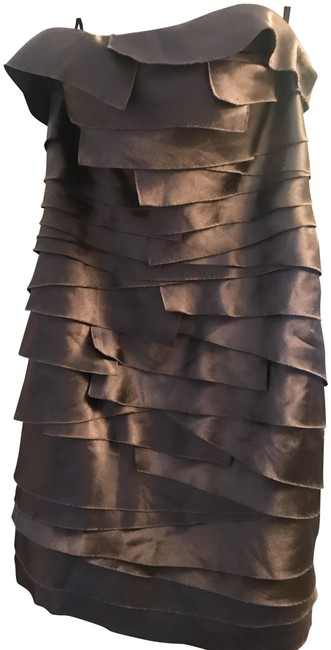 Item - Taupe Cocktail Dress Size 4 (S)