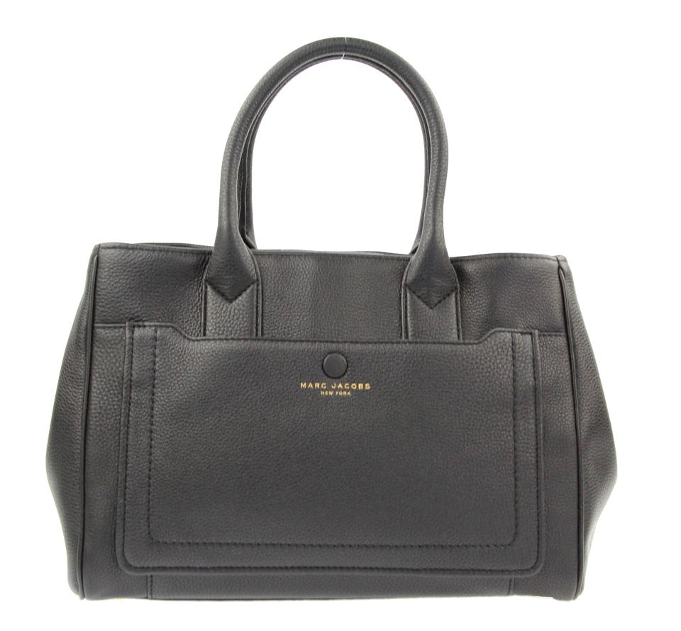 489906cdc673 Marc Jacobs Empire City Convertible Black Leather Tote - Tradesy