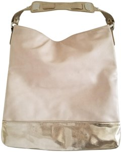 Express Faux Leather Metallic Hobo Pockets Shoulder Bag