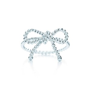 Tiffany & Co. Retired twisted bow ring