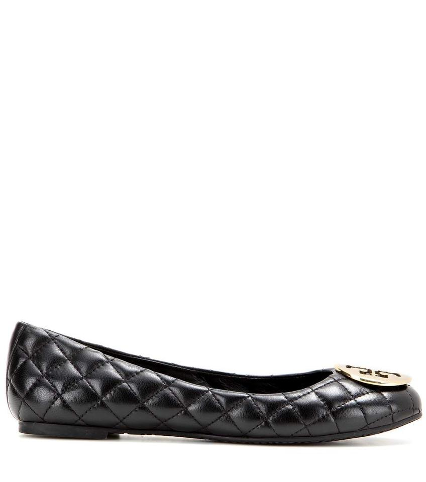 d4ae23323b91 Tory Burch Brown Quinn Quilted Ballerina Flats Size US 8.5 Regular ...