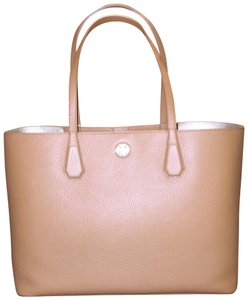 96a4bddd269 Added to Shopping Bag. Tory Burch Tote in Bark. Tory Burch Brody Perry Bark  Leather Tote