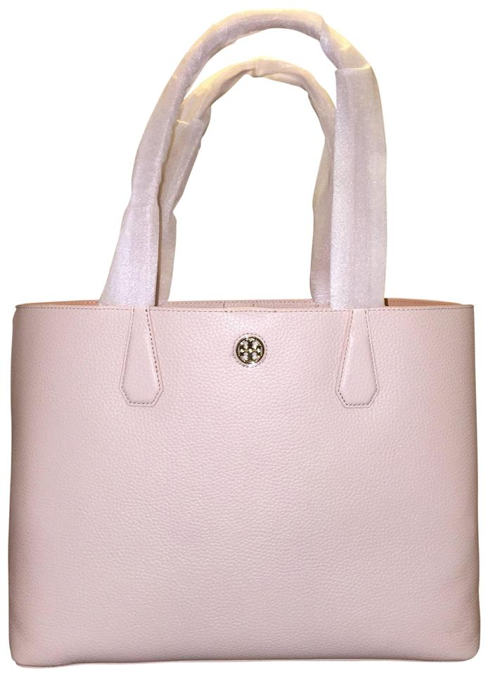 c48e7b2e6f2 Tory Burch Perry Brody Light Oak Leather Tote - Tradesy