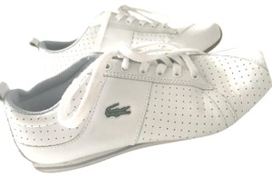 Lacoste White with Light Blue Athletic