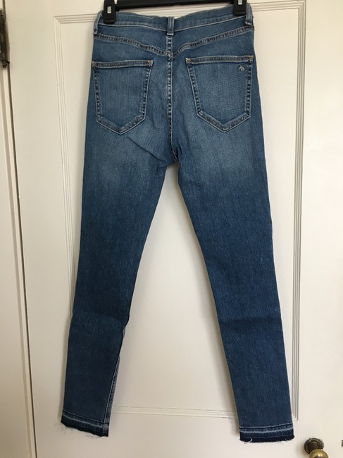 Rag & Bone Skinny Jeans-Medium Wash Image 2