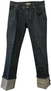 CAbi Classic Trouser/Wide Leg Jeans-Medium Wash