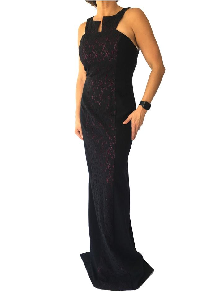 acbf47d0af7 Black Halo Crushed Eve Gown Long Formal Dress Size 8 (M) - Tradesy