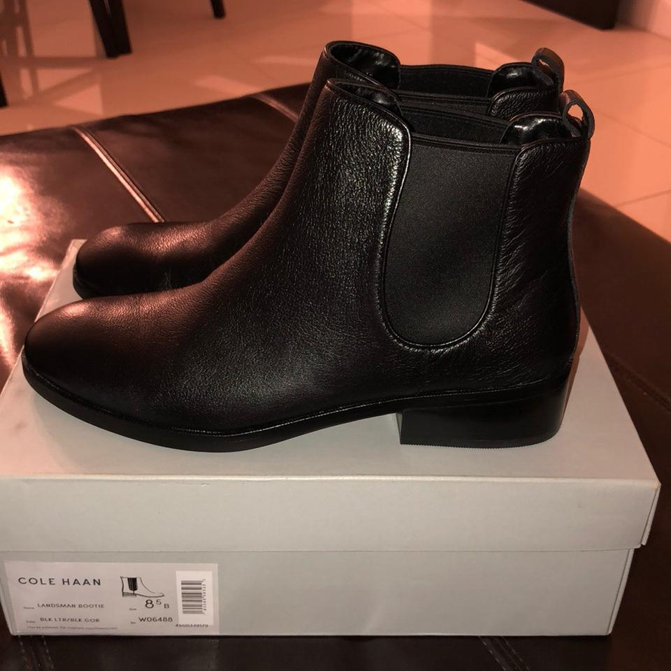 2d1db9b3487 Cole Haan Black Landsman Boots/Booties Size US 8.5 Regular (M, B ...
