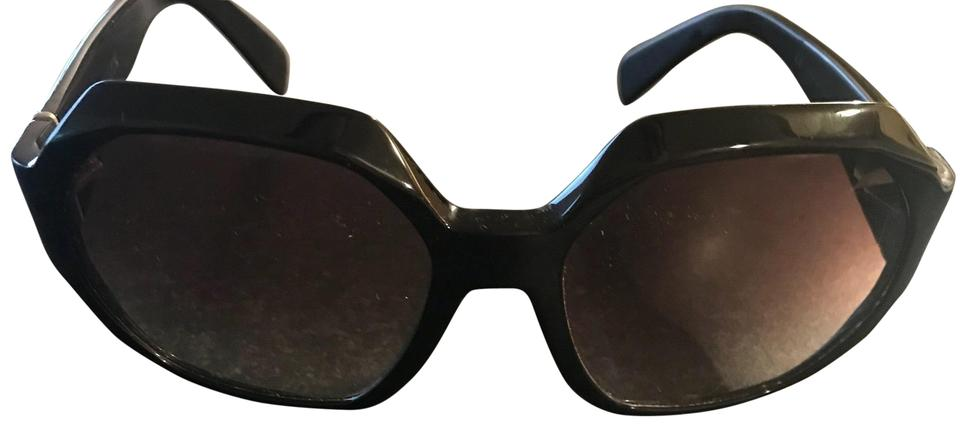 efafc449e600 Marc Jacobs Black Hexagon Shaped Sunglasses - Tradesy