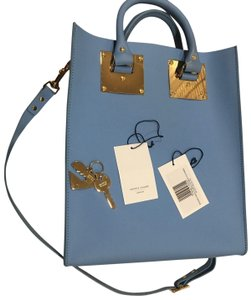 Sophie Hulme Mini Tote in BLUE