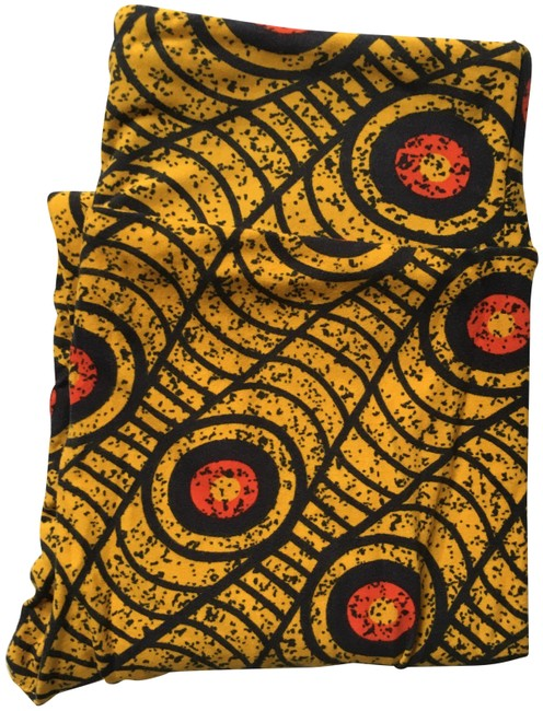 Item - Black and Gold Leggings Size OS (one size)