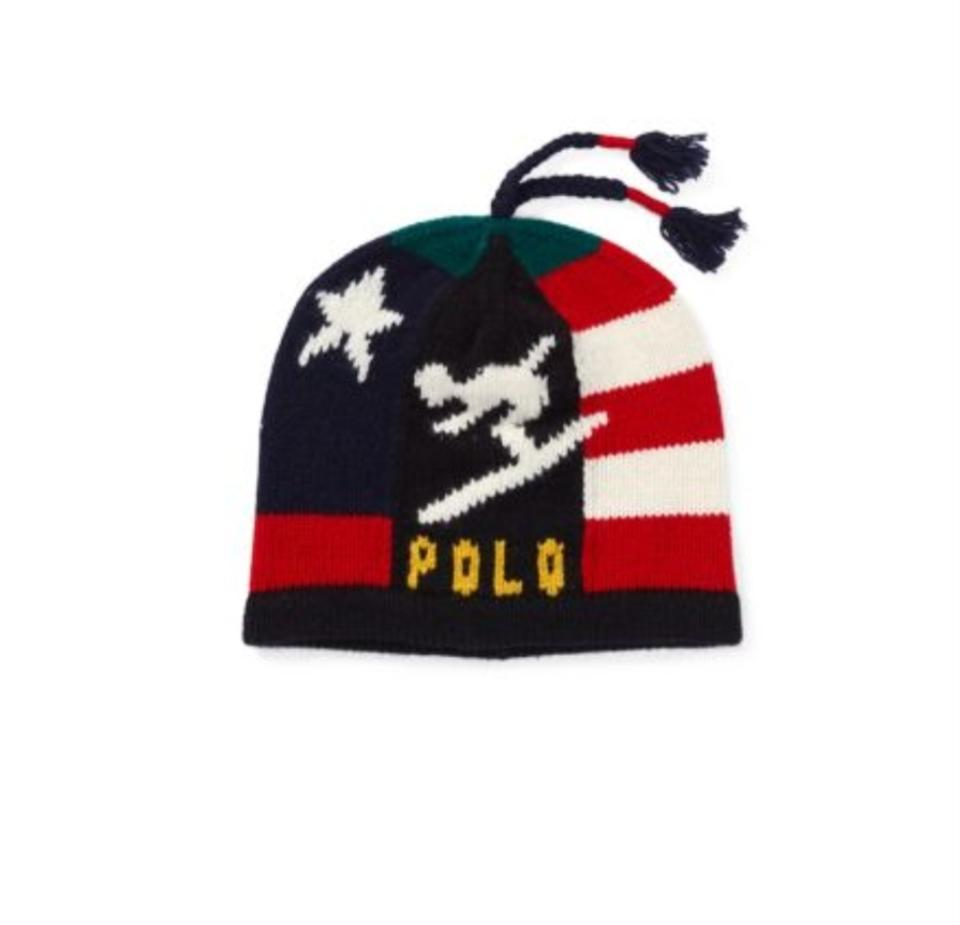 8f2f96c6b Polo Ralph Lauren Multicolor Wool Beanie Hat Jacket Size OS (one size)
