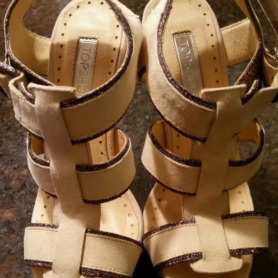 87f4443d0d Topshop Yellow Leather Platform Wedge High Heel Sandals Size US 6 Regular  (M, B) - Tradesy