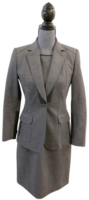 Preload https://img-static.tradesy.com/item/23141545/elie-tahari-charcoal-gray-two-tone-and-jacket-suit-mid-length-workoffice-dress-size-2-xs-0-1-650-650.jpg