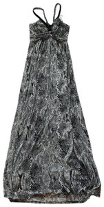 Black and grey Maxi Dress by Express
