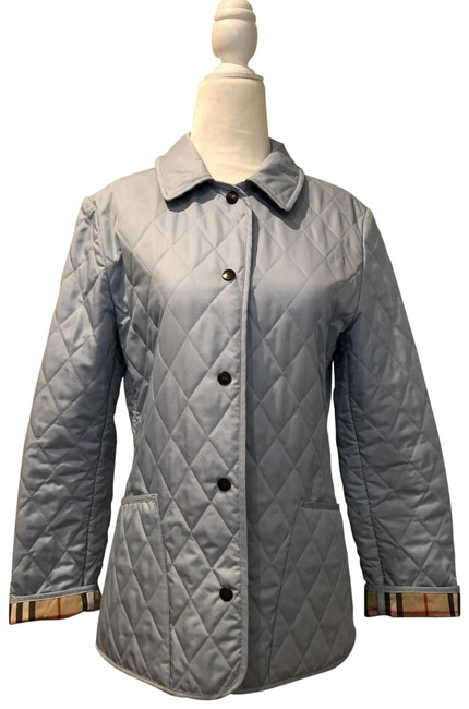 Item - Light Blue Quilted Jacket Size 4 (S)