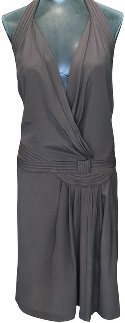 Item - Brown Short Night Out Dress Size 10 (M)