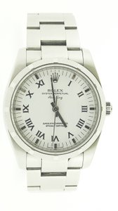 Rolex Rolex Air-King Fluted with Ivory Dial and Roman Hour 34mm Watch