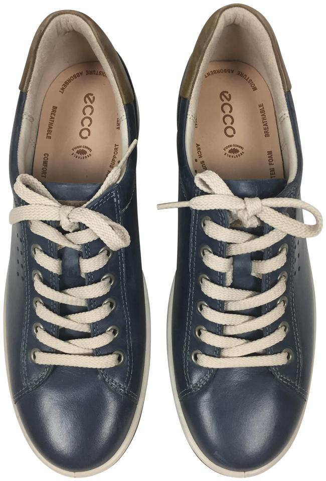 f5a350abc187 Ecco Marine Chase-2 Tie Sneaker Sz  9-9.5 Flats Size EU 40 (Approx ...