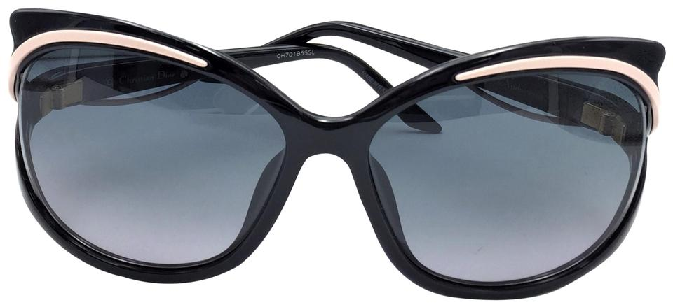 40a9ef069d83 Dior Pink Black Audacieuse 2 Butterfly 9oehd Sunglasses - Tradesy